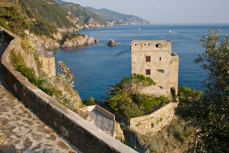 The Aurora Tower of Monterosso