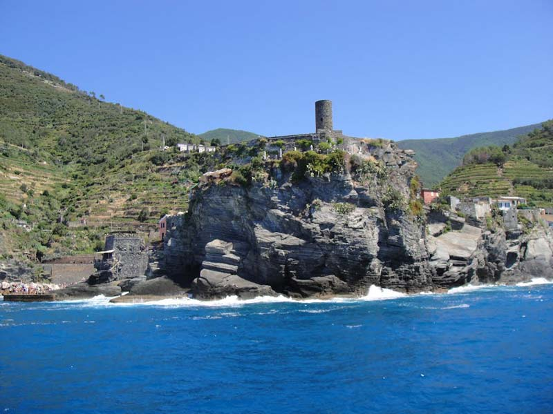 The Doria Castle in Vernazza Cinque Terre