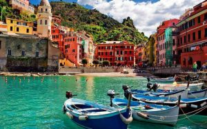 Swim in Vernazza
